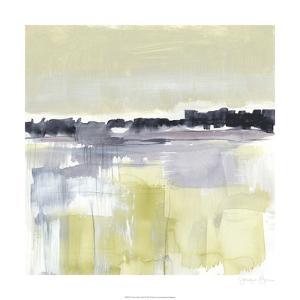 Violet & Olive Field I by Jennifer Goldberger