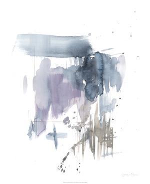 Violet & Paynes Splash I by Jennifer Goldberger