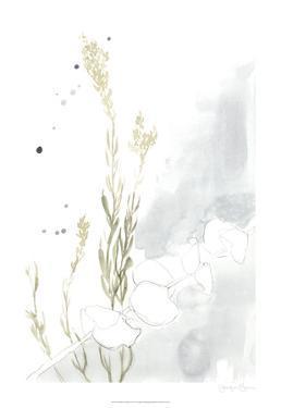 Wildflower Triptych II by Jennifer Goldberger