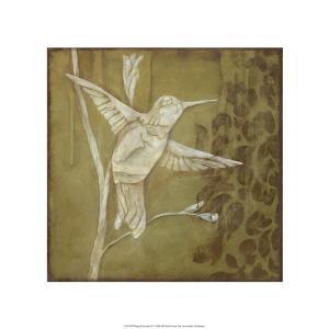 Wings & Damask III by Jennifer Goldberger