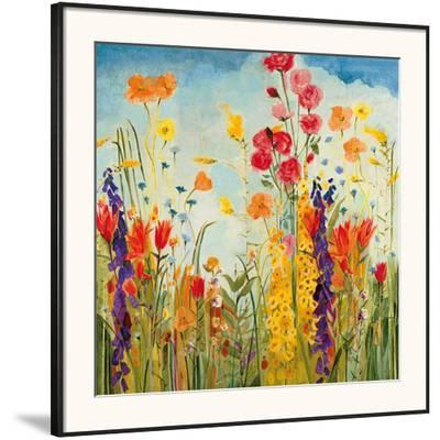 LaughterJill Martin. Framed Art Print