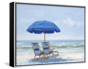 Beach Chairs 1 by Jill Schultz McGannon