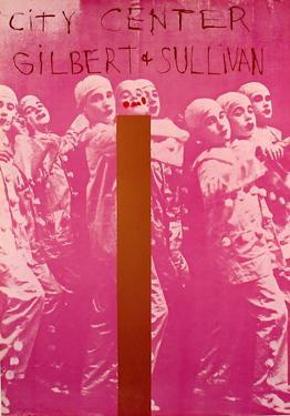 Gilbert And Sullivan by Jim Dine