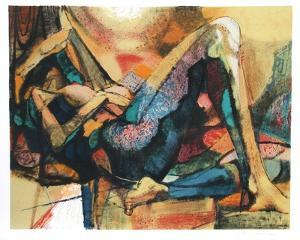 Reclining Nude by Jim Jonson