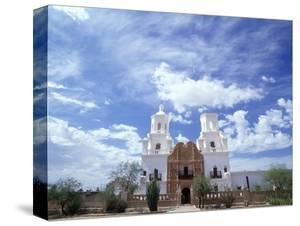 San Xavier del Bac Mission by Jim Zuckerman