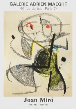Expo 83 - Galerie Maeght by Joan Miro