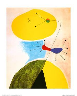 Portrait by Joan Miro