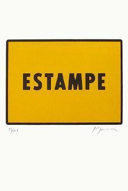 Estampe by Joël Ducorroy