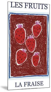 Les Fruits - Fraise by Joelle Wehkamp