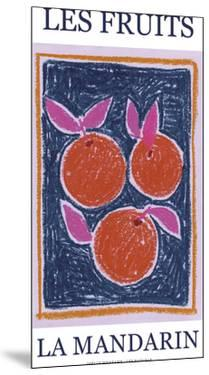 Les Fruits - Mandarin by Joelle Wehkamp