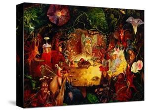 The Fairies' Banquet, 1859 by John Anster Fitzgerald