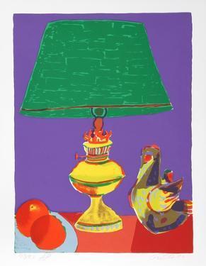 Pajaro (Green Lamp) by John Grillo