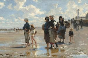 Setting Out to Fish, 1878 by John Singer Sargent