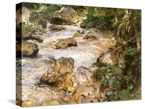 Trout Stream in the Tyrol, 1914 by John Singer Sargent