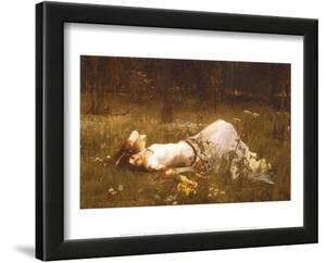 Ophelia, c.1889 by John William Waterhouse