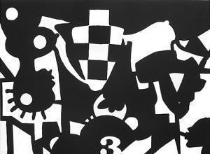 Inframonde 8 by José De Guimaraes
