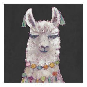 Noble Llama II by Julie Silver