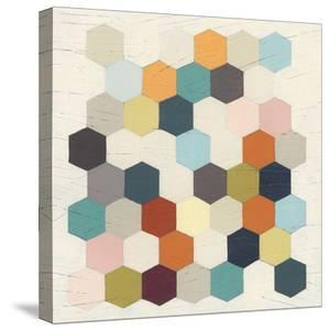 Honeycomb Geometry III by June Vess