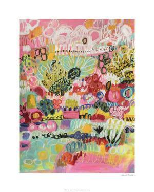 Boho Garden III by Karen Fields