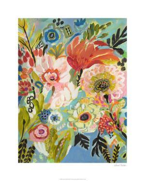 Secret Garden Floral III by Karen Fields