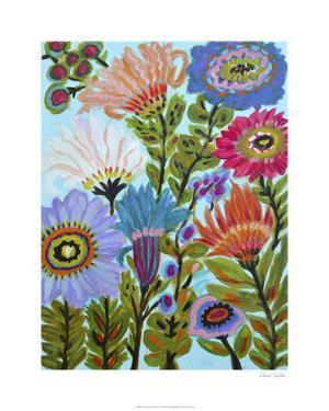 Secret Garden Floral IV by Karen Fields
