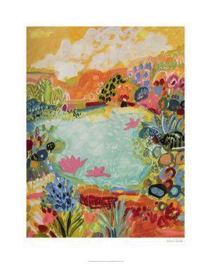 Whimsical Pond I by Karen Fields