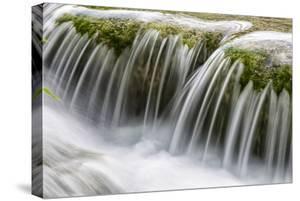 Runoff Of Water Below The Milanovacki Slap Waterfall At Lower Lakes At Plitvice Lakes NP, Croatia by Karine Aigner