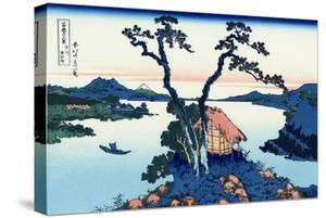 Lake Suwa in the Shinano Province, 1830-1833 by Katsushika Hokusai