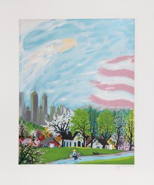 America Light of the World by Kay Ameche