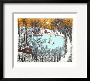 Walden Pond in Winter by Kay Ameche