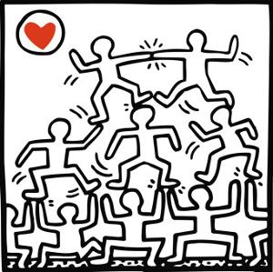 Keith Haring Kids, Posters and Prints at Art.com