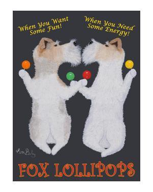 Fox Lollipops by Ken Bailey
