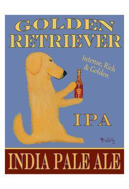 Golden Retriever India Pale Ale by Ken Bailey