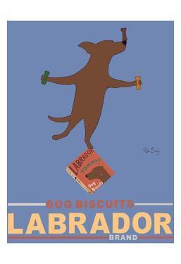 Labrador Brand - Chocolate Lab by Ken Bailey