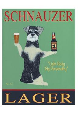 Schnauzer Lager by Ken Bailey