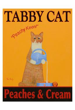 Tabby Cat Peaches & Cream by Ken Bailey