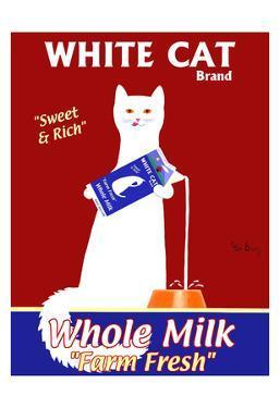 White Cat Milk by Ken Bailey