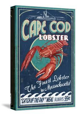 Cape Cod, Massachusetts - Lobster by Lantern Press