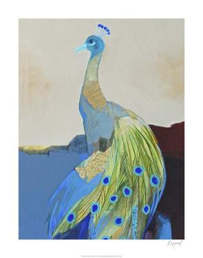 Peacock Transition II by Larry Foregard