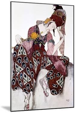 Iskander, Costume Design for the Ballet La Peri, C1913 by Leon Bakst