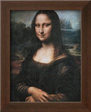 Mona Lisa (La Gioconda), c.1507 by Leonardo da Vinci