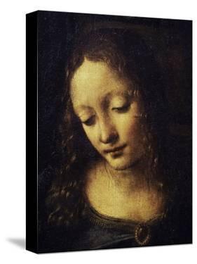 The Virgin of the Rocks Detail of Virgin by Leonardo da Vinci