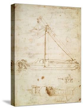 War Machine by Leonardo da Vinci