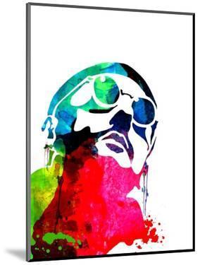 Leon Watercolor 2 by Lora Feldman