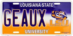 Louisiana State Tigers Geaux