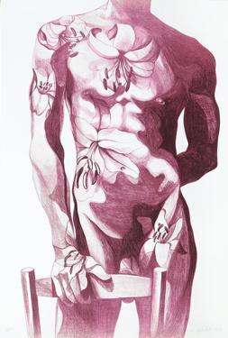 Male Nude 5 by Lowell Blair Nesbitt