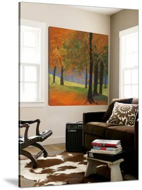 Autumn Trees by Lynn Krause