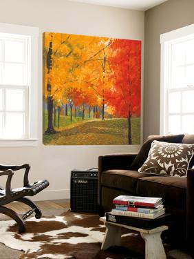 Bright Autumn Day II by Lynn Krause