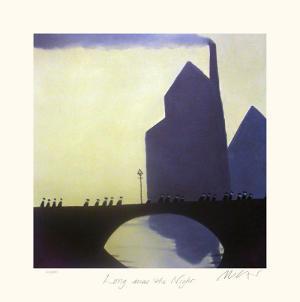 Long was the Night by Mackenzie Thorpe