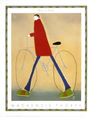 Man in Flares by Mackenzie Thorpe